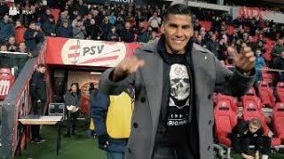 Carlos Salcido recibe homenaje y condecoración en juego del PSV