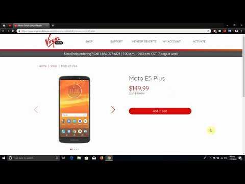 Motorola moto e5 plus | Virgin Mobile USA
