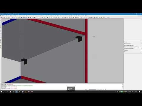 Добавление крепежа в К3 Мебель на примере уголка Grandis