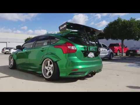 Battle Aero Ford Focus ST Hatch Mount Wing