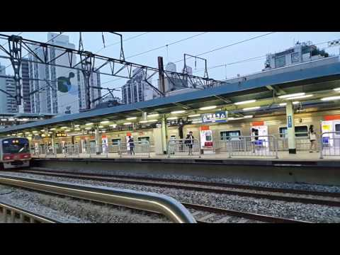[WW] KOREA SEOUL subway line 1, It is the close of the office hours.
