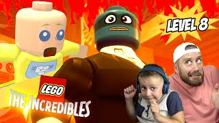 The Incredibles on Fire! LEGO the Incredibles Gameplay for Nintendo Switch Part 8