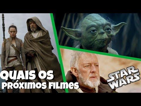 QUAIS FILMES DE STAR WARS DEVEM SER LANÇADOS APÓS O EPISODIO 9