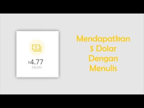 BARU! Mendapatkan Uang Dengan Menulis Terbaru