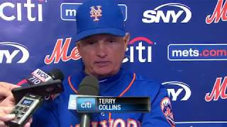 Terry Collins steps down as New York Mets manager, talks future