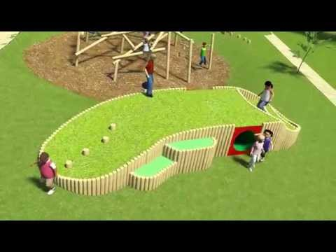 Play Mound - Playdale Playground Equipment