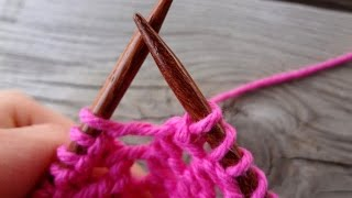 Episode 160: How To Knit the Yarn Over (yo) Stitch