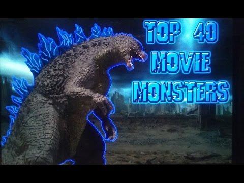 Top 40 Movie Monsters