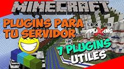 Minecraft: Plugins para tu Servidor - ¡7 Plugins Utiles!
