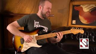2011 Fender Stratocaster 50s Duo Tone Relic Limited Edition | Guitar Demo