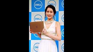 フリーアナウンサーの青木裕子(35)が26日、都内で、「デル ノート...