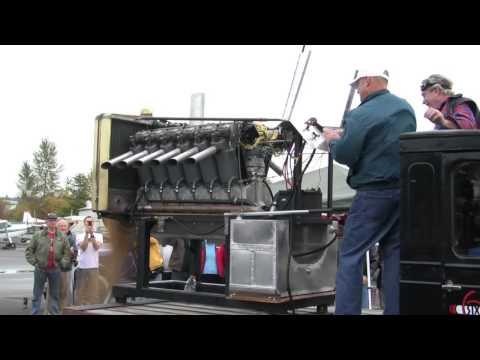 Seattle World Cruiser Liberty Engine Run