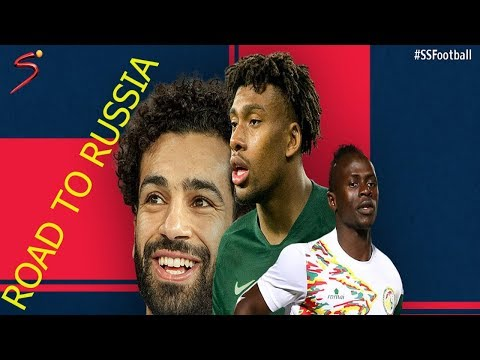 WORLD CUP QUALIFIERS 2018 ALL 5 AFRICAN TEAMS GOALS||ROAD TO RUSSIA