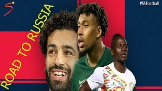 WORLD CUP QUALIFIERS 2018 ALL 5 AFRICAN TEAMS GOALS  ROAD TO RUSSIA