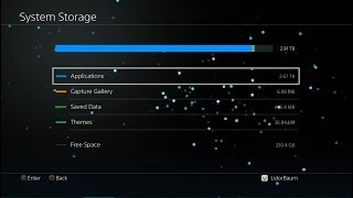 PS4 4.55 Jailbreak HEN -  149 Games Installed - 2.7TB / 1+8TB