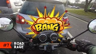 Motorcycle ROAD RAGE 2017 | EP. #7 | STUPID, ANGRY & CARELESS Drivers vs BIKERS