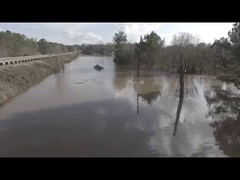 Chattahoochee River Flooding in Columbia Al.