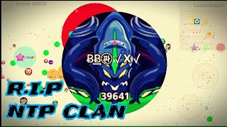 AGARIO MOBILE - Epic Revenge vs Clan // Resposta para NTP CLAN