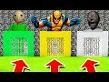 Minecraft PE : DO NOT CHOOSE THE WRONG PRISON! (Baldi's Basics, Wolverine & Granny)
