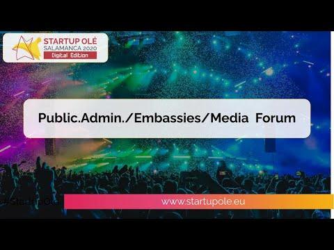 Startup OLÉ 2020 Digital Edition - Media/Embassy/Public Administration