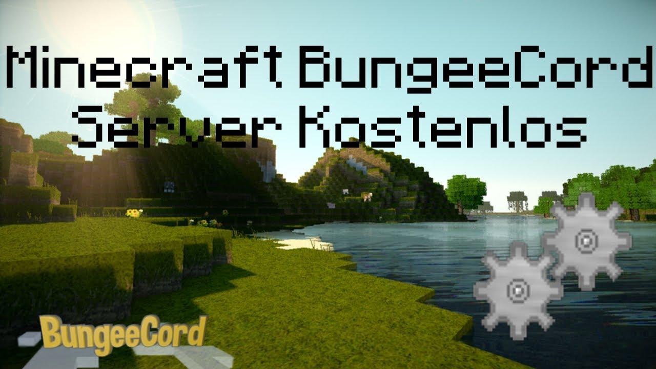 Minecraft BungeeCord Server Erstellen Kostenlos YouTube - Minecraft bungeecord server erstellen