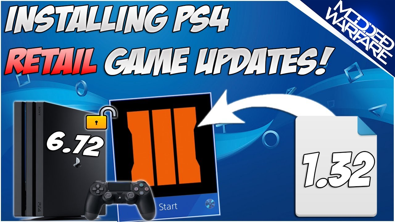 (EP 5) Installing Retail Updates on a Jailbroken PS4 (6.72 or Lower!)