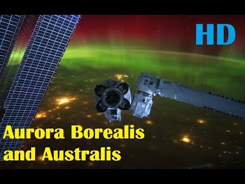 Stunning Aurora Borealis and Australis from Space (International Space Station Timelapse)