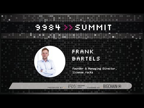 Frank Bartels, license.rocks | A Decentralized License Server for Digital Assets