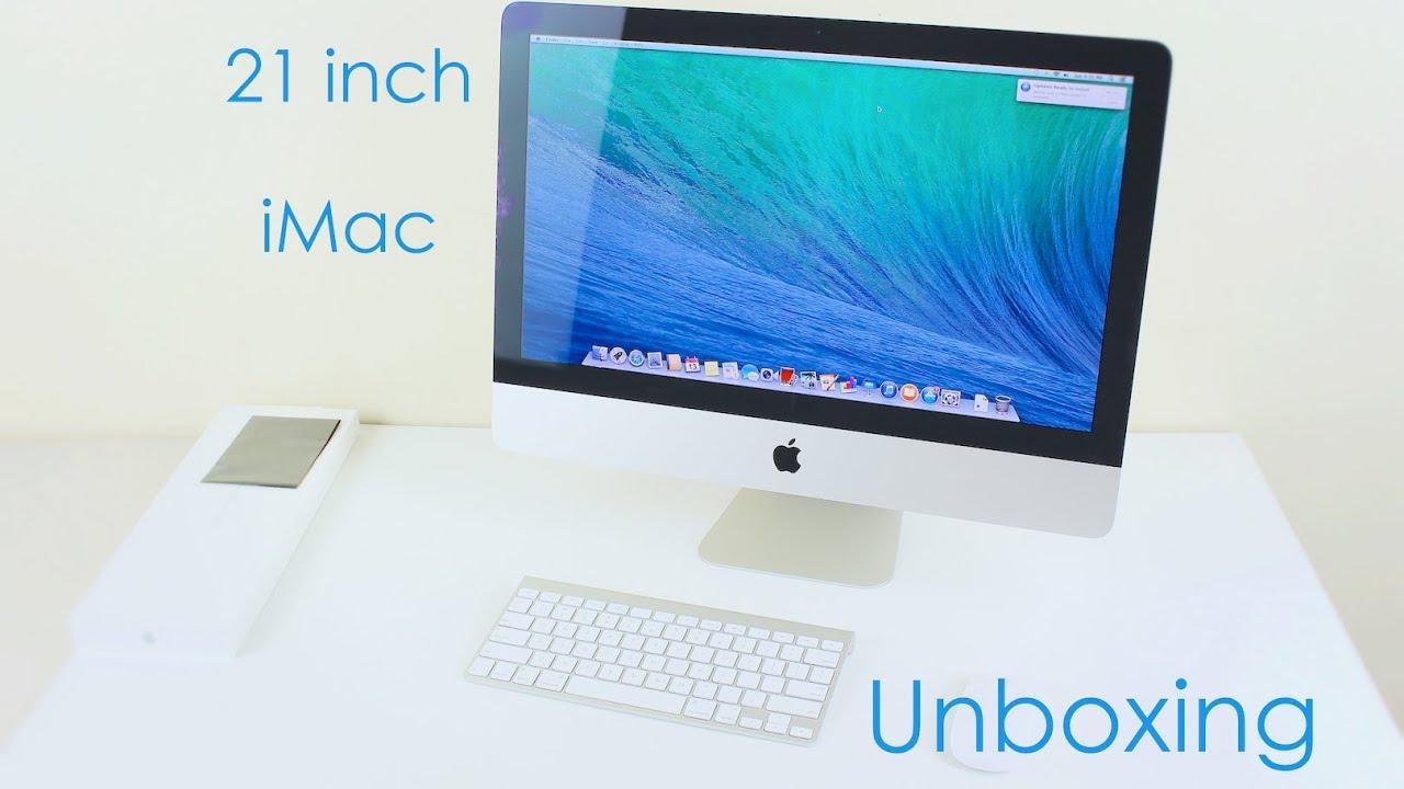 apple imac 21 5 unboxing and setup 2014 intel core i5 and nvidia rh youtube com Apple iMac 13 Apple iMac