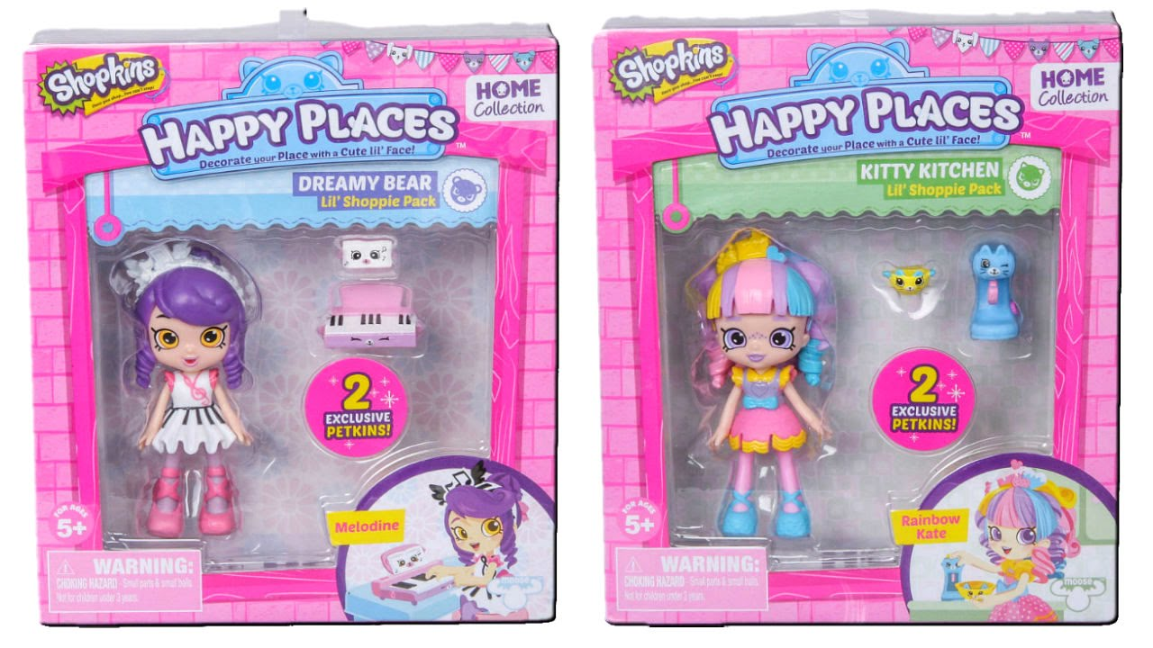 Shopkins Happy Places Home Collection Dreamy Bear Melodine Lil Shoppie Doll