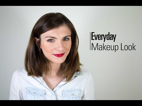 Everyday Makeup Look || The Very French Girl