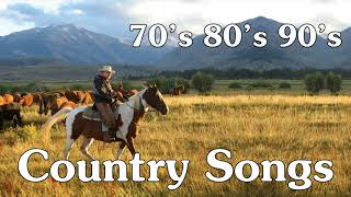 Best Country Music Of 60s 70s 80s 90s Collection - Top 100 Classic Country Songs Of All Time