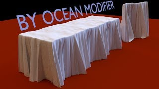 Blender Tutorial: Tablecloth and Curtain By Ocean Modifier thumbnail