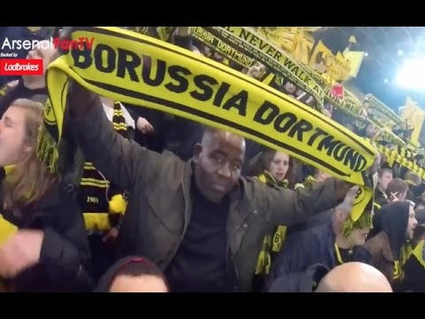 (MUST WATCH) How To Improve Arsenal's Atmosphere The Dortmund Way