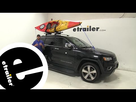 Thule Compass Kayak and SUP Carrier Review - 2014 Jeep Grand Cherokee - etrailer.com
