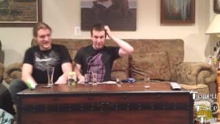 Drinking Grass Jelly Drink (Tidwell Taste Tour)
