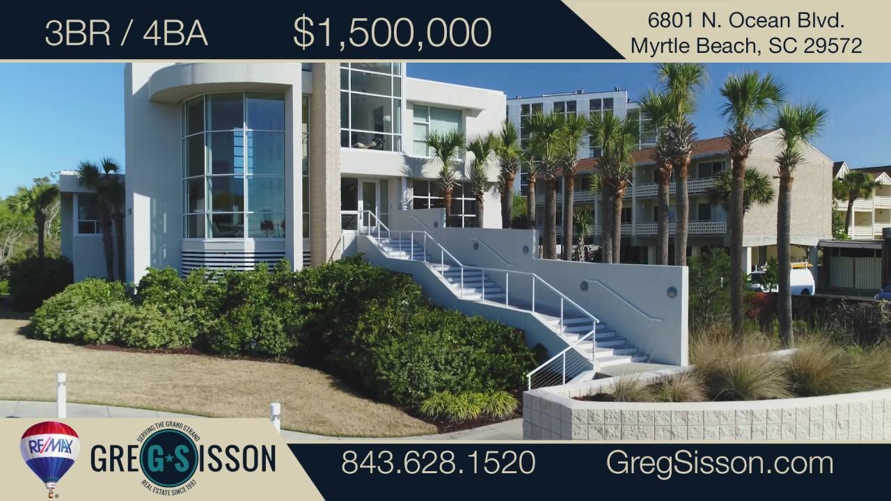Myrtle Beach Real Estate Agent 6801 N Ocean Blvd Sc 29572
