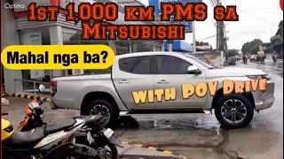1st 1,000 km PMS with POV Drive (Mitsubishi Strada GLS 2020)