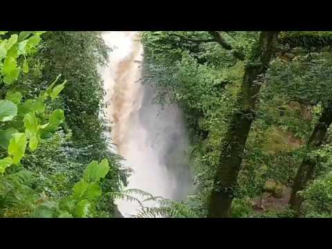 Aira force on acid or floods in summer best viewed on a rainy day