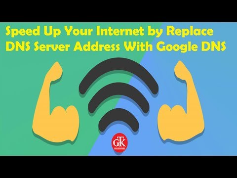 Speed Up Your Internet by Replace DNS Server Address With Google DNS