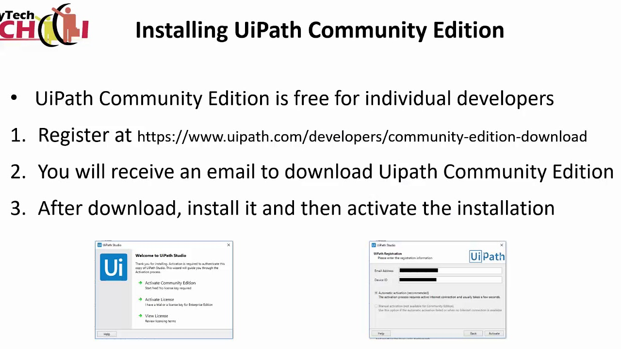 UiPath / RPA tutorial for beginners