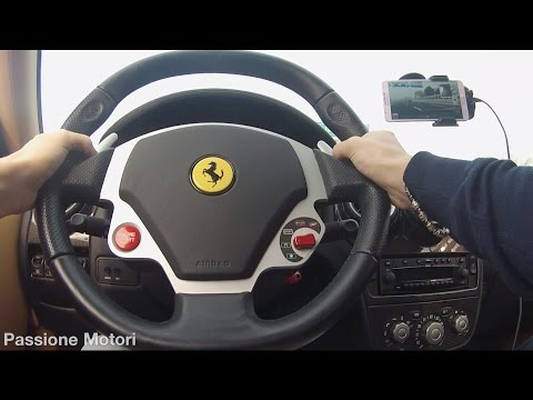 OMG! Ferrari F430 Test Drive