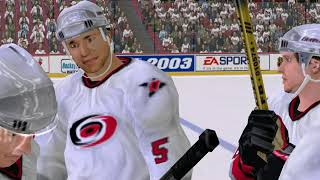 NHL 2003 Stanley Cup Final Game 1: Sharks vs. Hurricanes