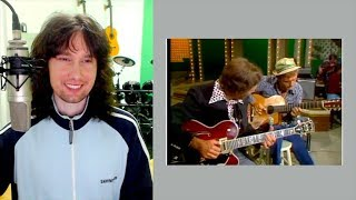 British guitarist reacts to Chet Atkins AND Jerry Reed's stupendous ability level!