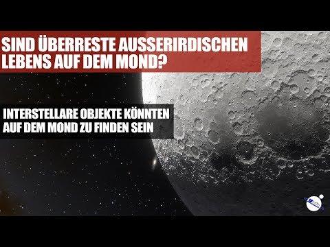 Sind Überreste Ausserirdischen Lebens auf dem Mond?