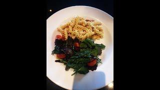 5 minute pasta carbonara