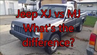 XJ vs MJ - What's The Difference?