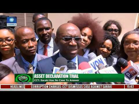 News Across Nigeria: CCT Says Bukola Saraki Has No Case To Answer