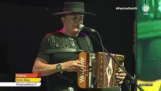 Antonio Tarragó Ros en el Festival Nacional del Chamamé de Federal - Festival País 19