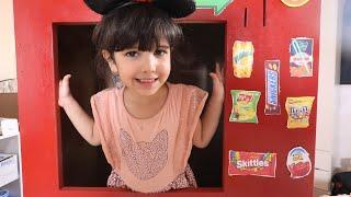 الين تبيع ماكينة حلويات وشبس !!